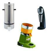 Επαγγελματικές συσκευές για ζεστά και κρύα ροφήματα