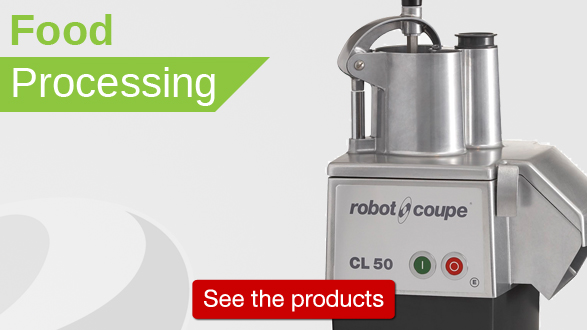 Click to see all food processing with items from ROBOT COUPE
