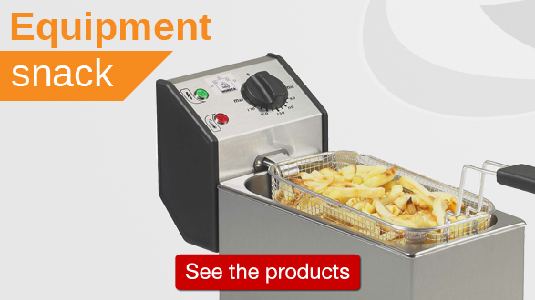 Click here for all professional snack eqquipment