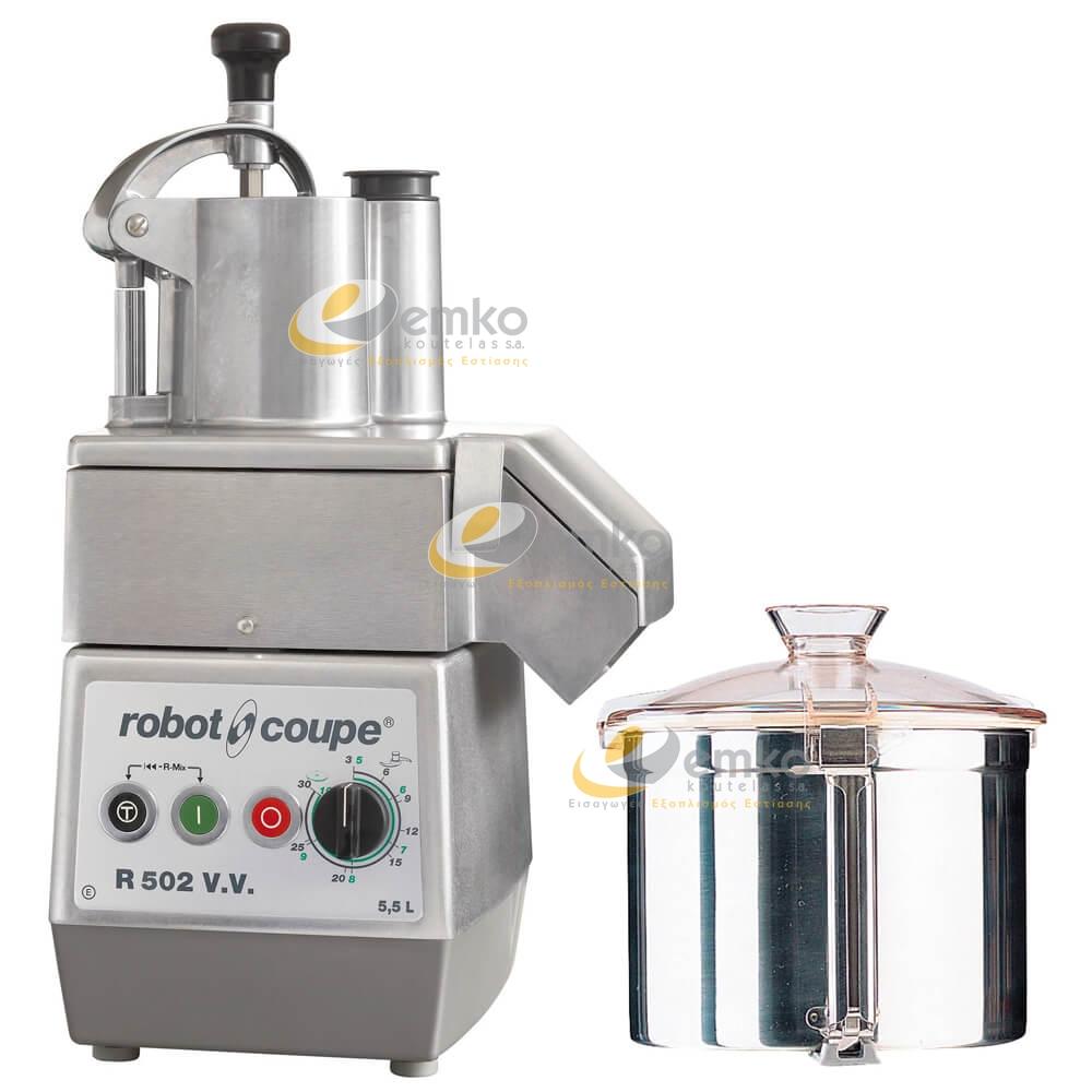 Πολυκοπτικό μηχάνημα R502E V.V.