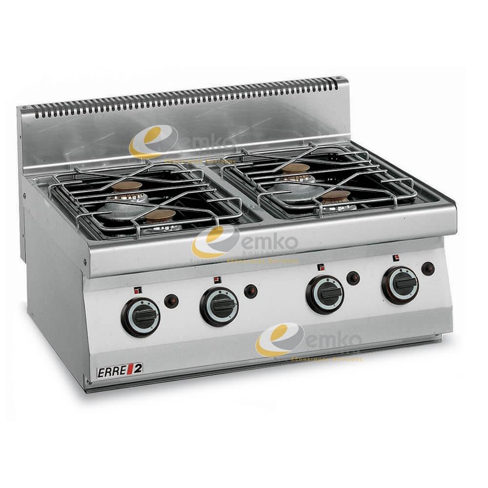 Κουζίνα αερίου 4 εστιών