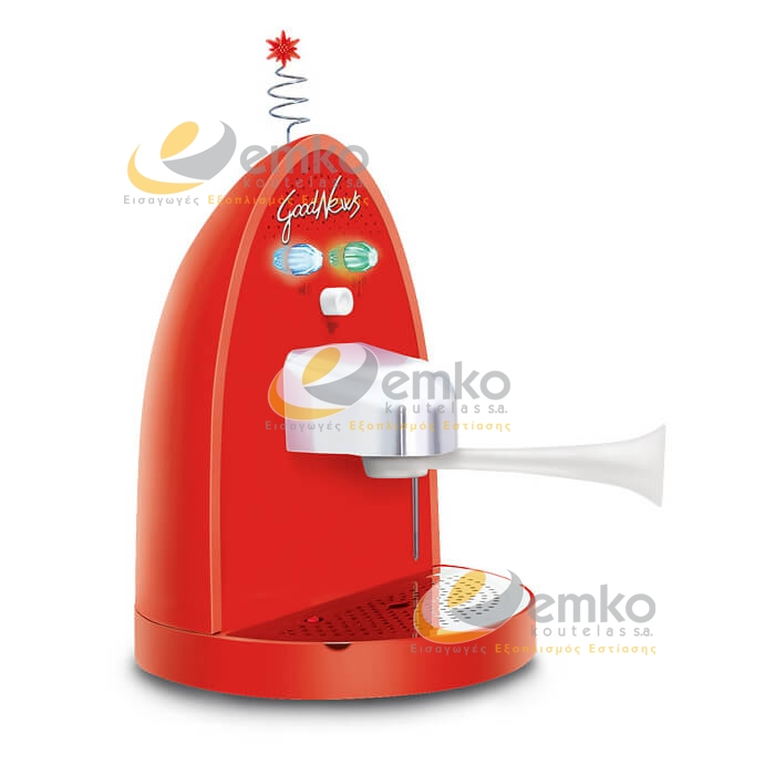Μηχανή espresso Good News κόκκινη