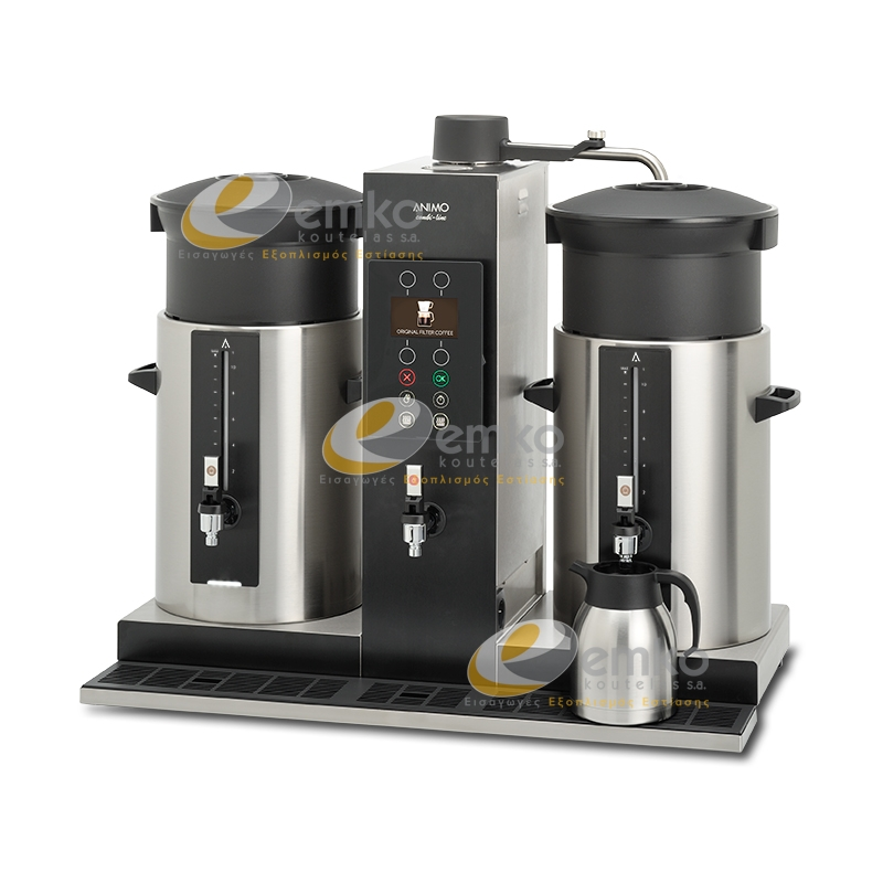 Μηχανή καφέ Combi Line CB 2x10W με βραστήρα